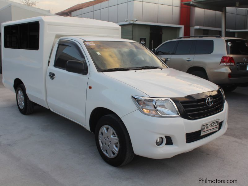 Used Toyota Hilux FX | 2012 Hilux FX for sale | Pampanga Toyota Hilux FX sales | Toyota Hilux FX ...