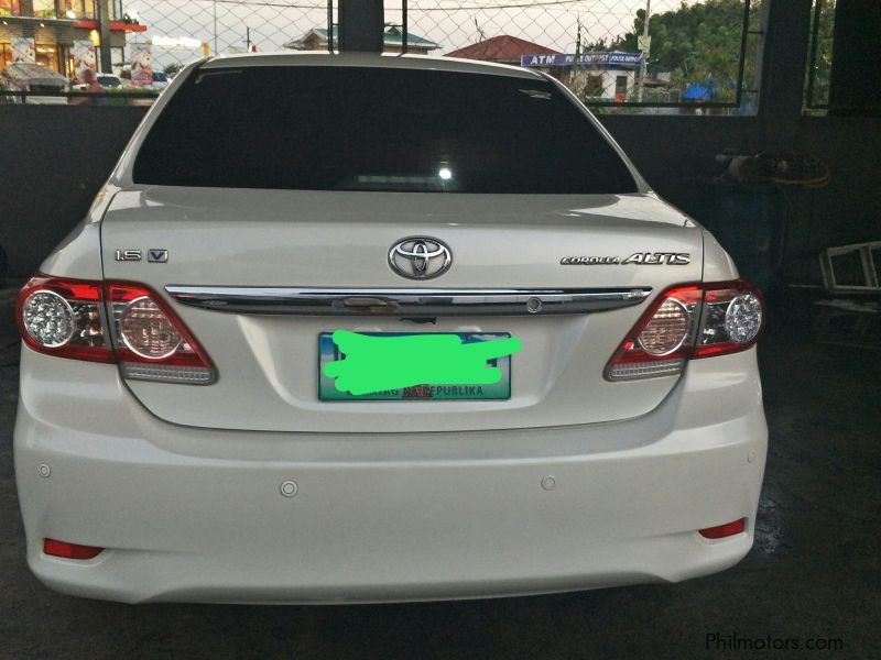 Used Toyota Corolla 1 6 V 2013 Corolla 1 6 V For Sale Pampanga Toyota Corolla 1 6 V Sales