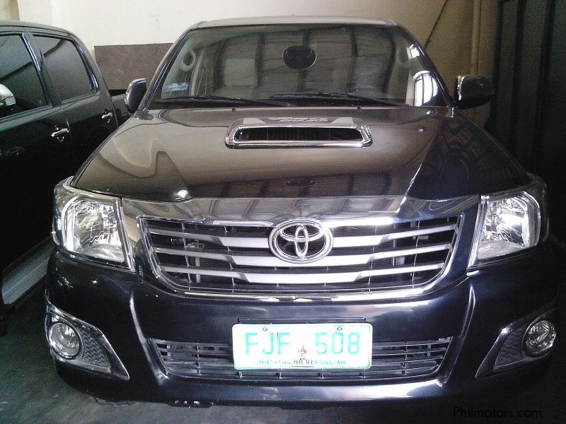 Used Toyota Toyota Hilux G 3 0 4x4 manual sel 2013