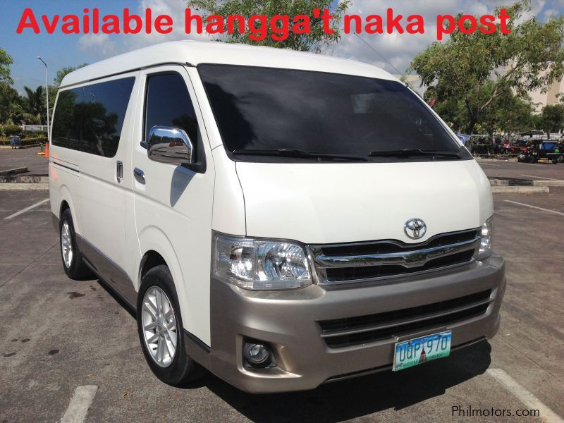 used toyota hiace 2013 hiace for sale quezon toyota hiace sales toyota hiace price 980,000 used cars