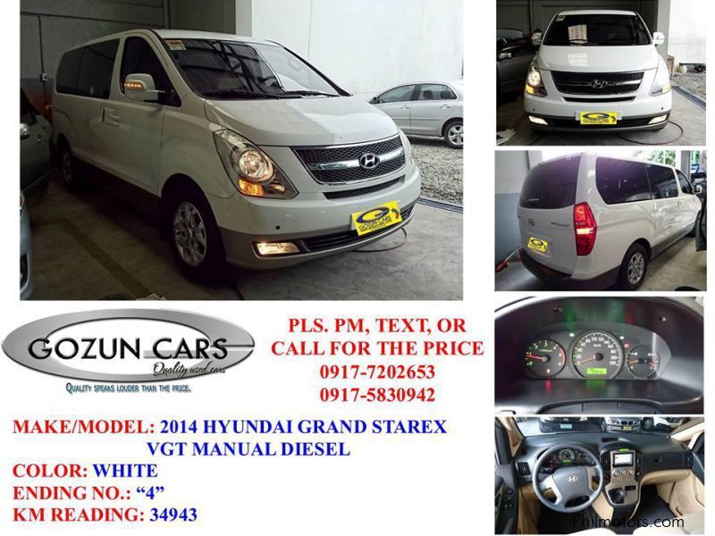 Used Hyundai Starex | 2014 Starex for sale | Pampanga ...