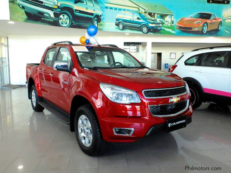 Chevrolet Colorado LTZ 4x4 A/T In Philippines ...