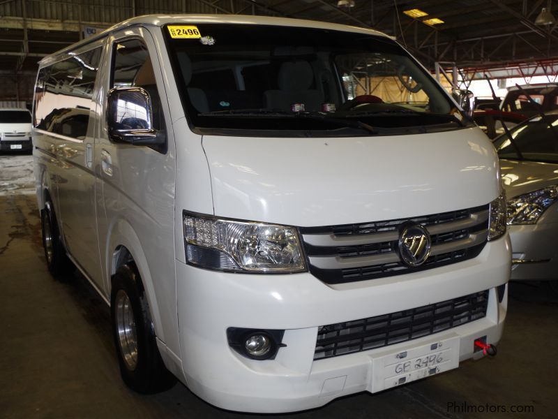 Used Foton VIEW TRANSVAN | 2015 VIEW TRANSVAN for sale | Pasig City