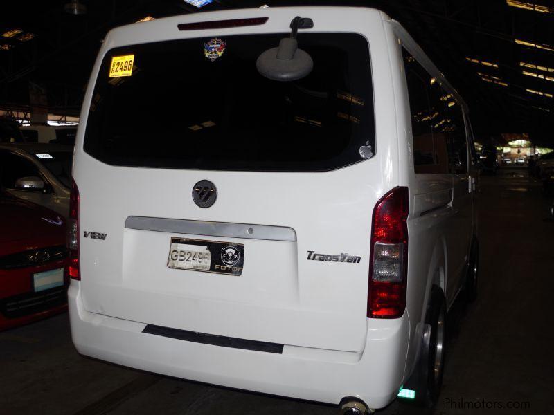Used Foton VIEW TRANSVAN | 2015 VIEW TRANSVAN for sale | Pasig City