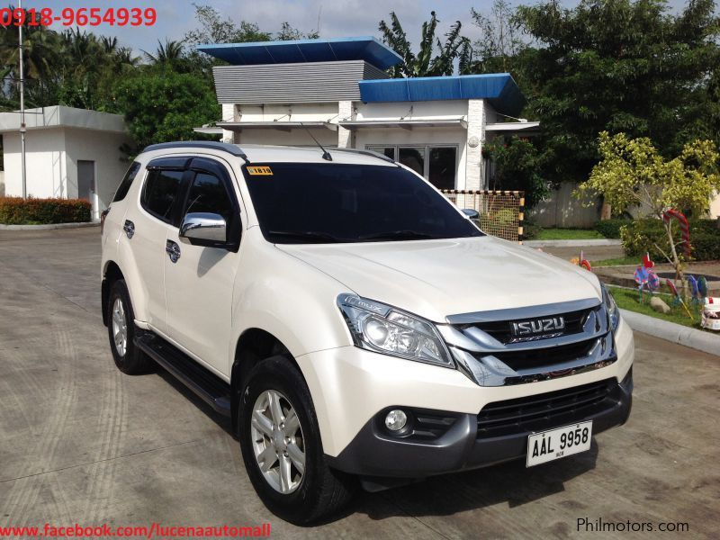 2015 Mux For Sale