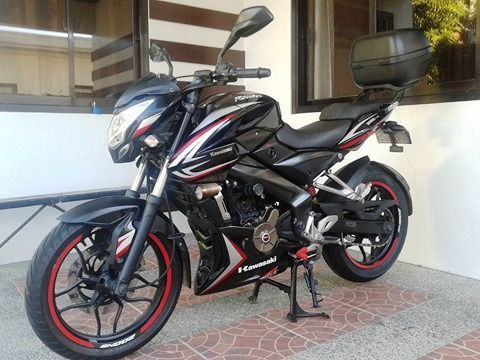 used kawasaki rouser 200ns 2015 rouser 200ns for sale nueva