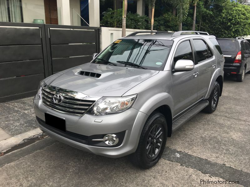Used Toyota Fortuner 2015 Fortuner For Sale Quezon City Toyota
