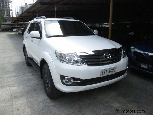 Used Toyota Fortuner G 2015 Fortuner G For Sale Pasig City