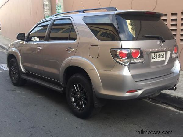 Used Toyota Fortuner V 2015 Fortuner V For Sale Quezon City