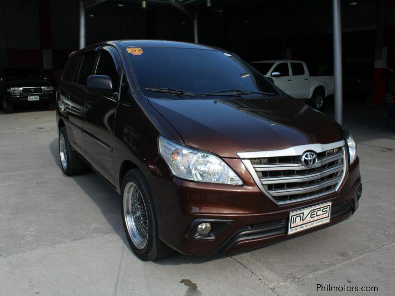 Used Toyota Innova E | 2015 Innova E for sale | Pampanga Toyota Innova E sales | Toyota Innova E ...
