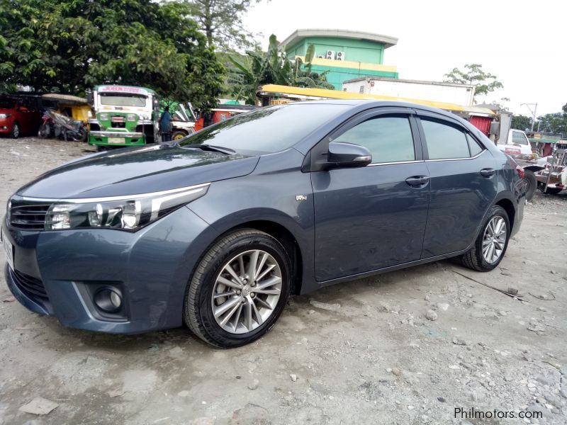 Used Toyota Toyota Altis 1 6 G Manual Gas 2015