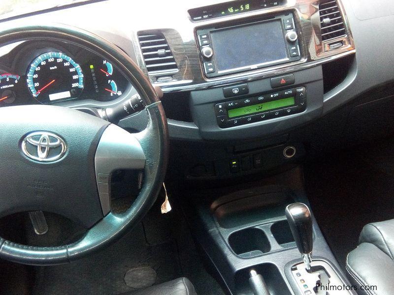 Used Toyota Toyota Fortuner 2 5 V 4x2 Automatic Diesel 2015 2015 Toyota Fortuner 2 5 V 4x2