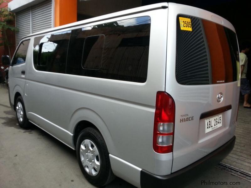 aba96ad5e7 ... Toyota Toyota HIACE Commuter 2.5 manual diesel 2015 in Philippines ...