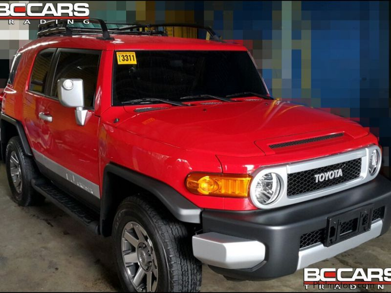 New Toyota Fj Cruiser Red 2015 Fj Cruiser Red For Sale