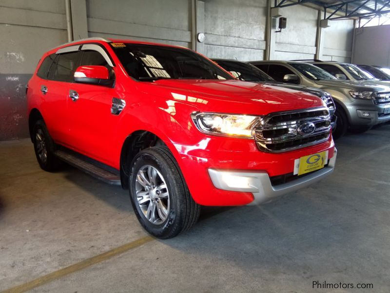 Ford Everest in Philippines