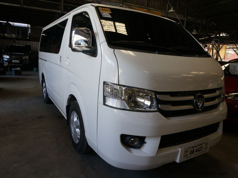 used foton view transvan