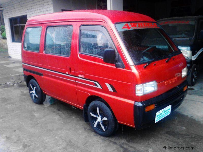Suzuki Scrum Van