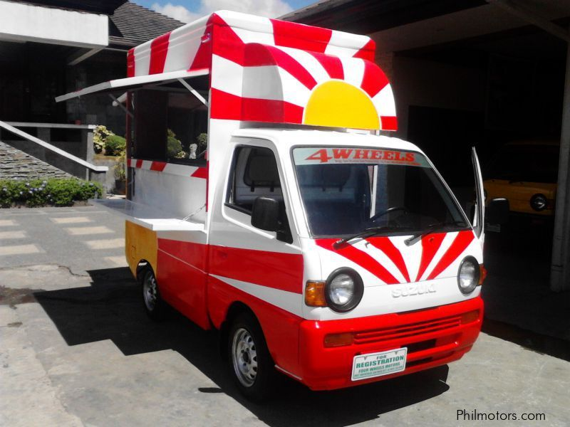Auto Supply Business For Sale Philippines: Used Suzuki Multicab Food Truck