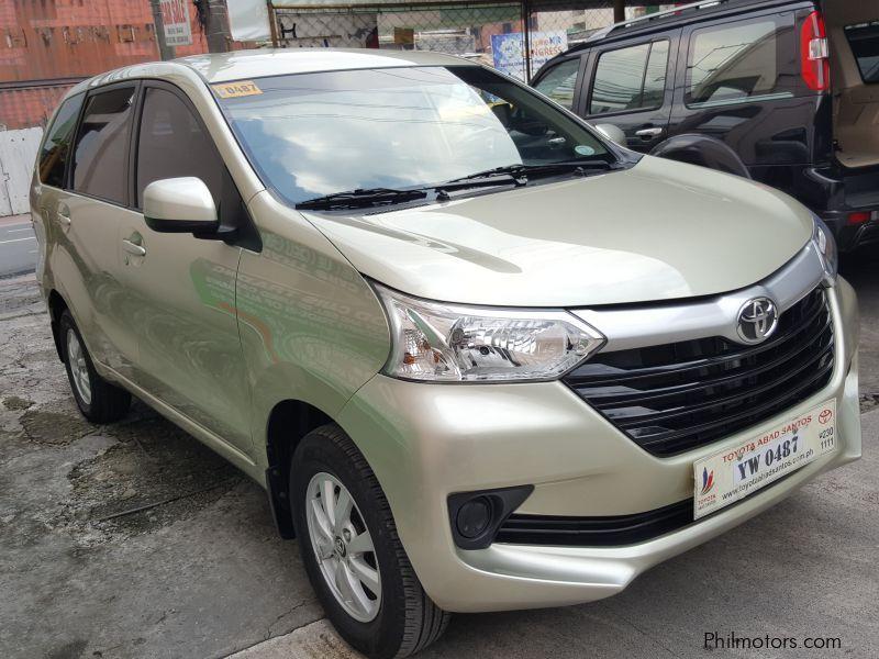 Used Toyota Avanza 2016 Avanza For Sale Makati City