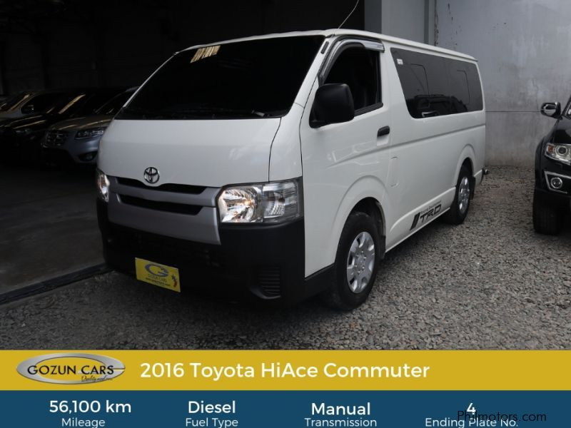 used toyota hiace commuter 2016 hiace commuter for sale pampanga toyota hiace commuter sales toyota hiace commuter price 1,048,000 used cars