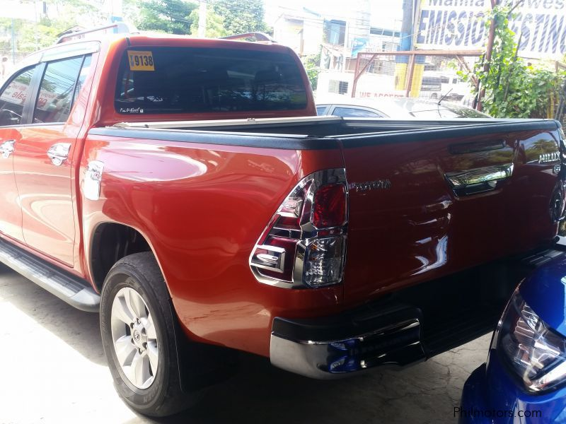 Old Cars For Sale In Philippines: 2016 Hilux G For Sale