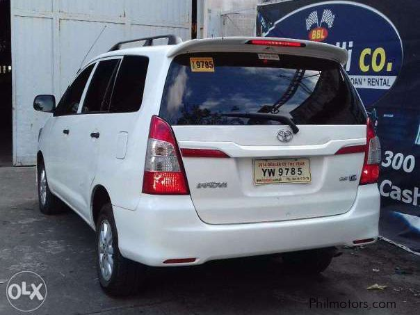 Used Toyota Innova 2016 Innova For Sale Paranaque City