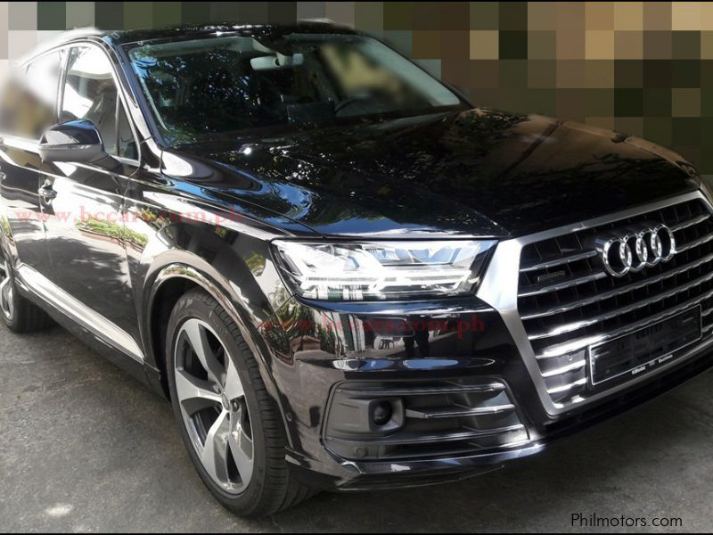 used audi q7 2017 q7 for sale pasig city audi q7 sales audi q7 price 6 300 000 used cars. Black Bedroom Furniture Sets. Home Design Ideas