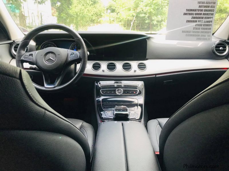 Mercedes-Benz E200 in Philippines