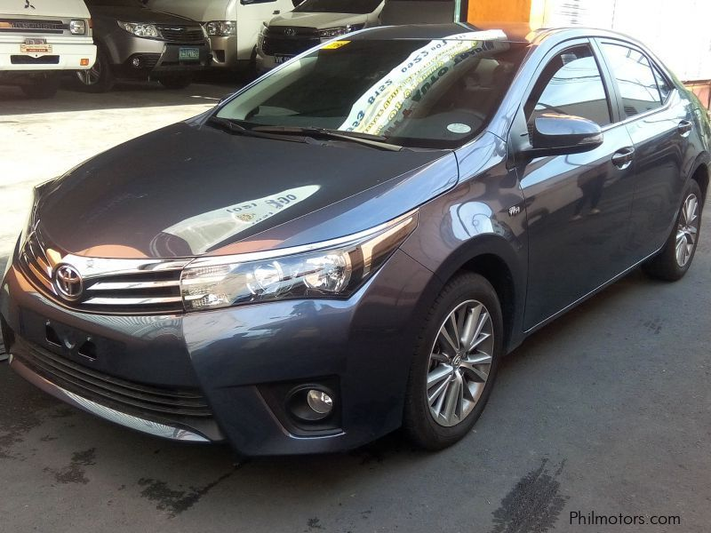 Used Toyota Toyota Altis 1 6 G Manual Gas 2017