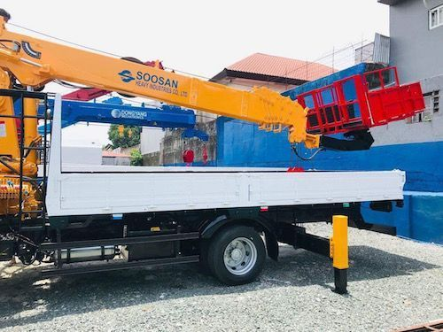Daewoo Boom truck 7 tons in Philippines