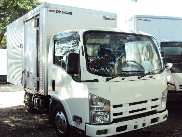 Isuzu Elf Aluminum Closed Van in Philippines