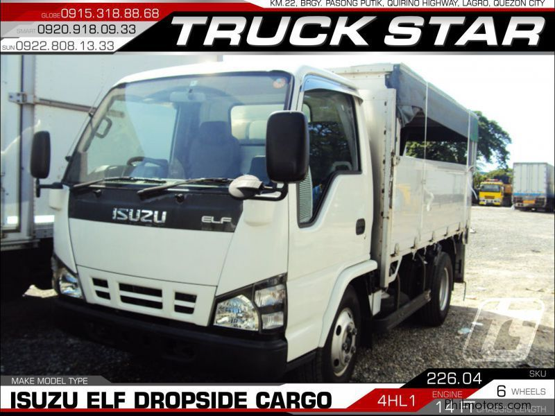 Isuzu Elf Dropside Cargo in Philippines
