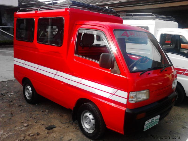 Suzuki Multicab FB Type with Top Load in Philippines