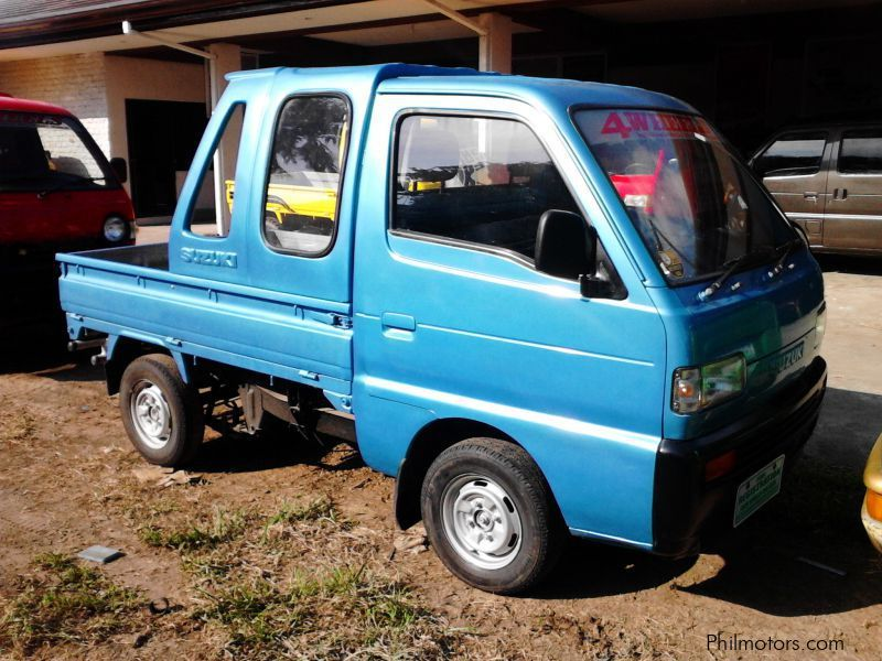 Suzuki Multicab pick up Dropside with Canopy in Philippines