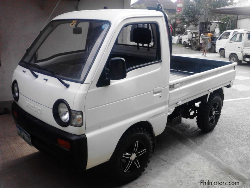 Suzuki multicab pick up drop side Kargador in Philippines