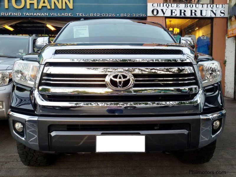 used toyota tundra 1794 edition 2018 tundra 1794 edition for sale paranaque city toyota. Black Bedroom Furniture Sets. Home Design Ideas