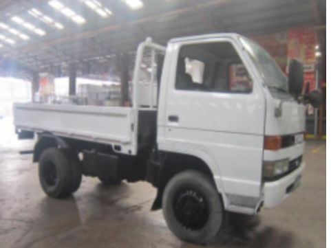 Isuzu N Series 4x4 6-wheeler dropside 10.7 footer truck in Philippines