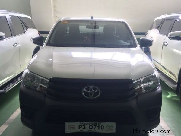 Toyota Hilux J Base Model 2.4L MT in Philippines