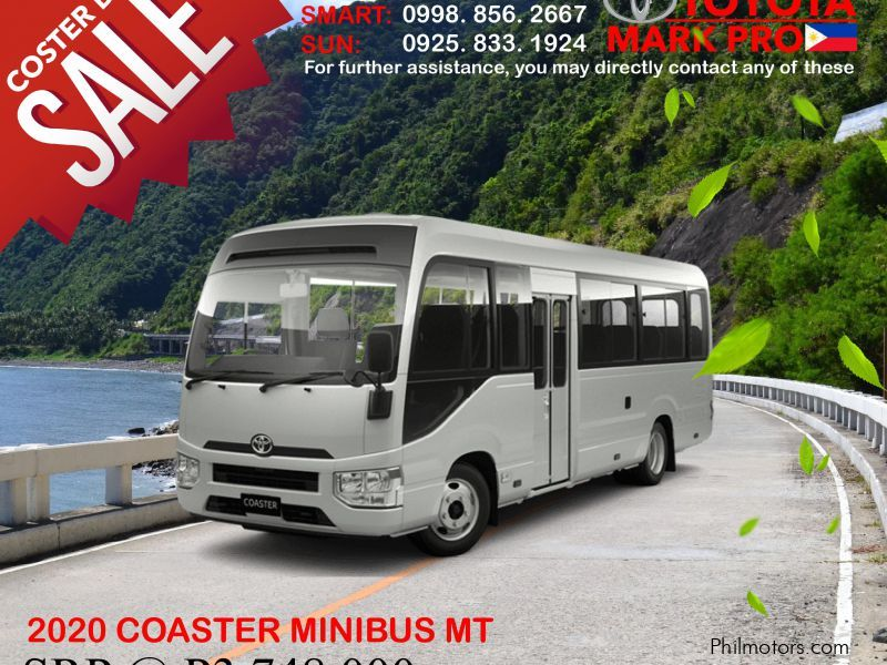 Toyota Brand New Toyota Coaster Minibus 29s Euro4 Diesel MT - CALL 09177131924 NOW in Philippines