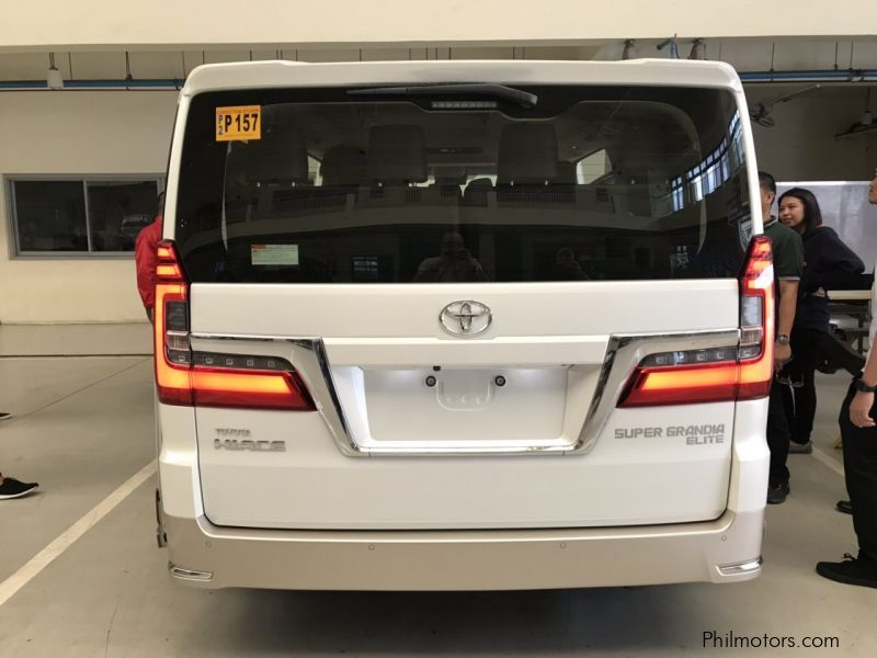 Toyota Hiace Super Grandia ELITE 2T AT in Philippines