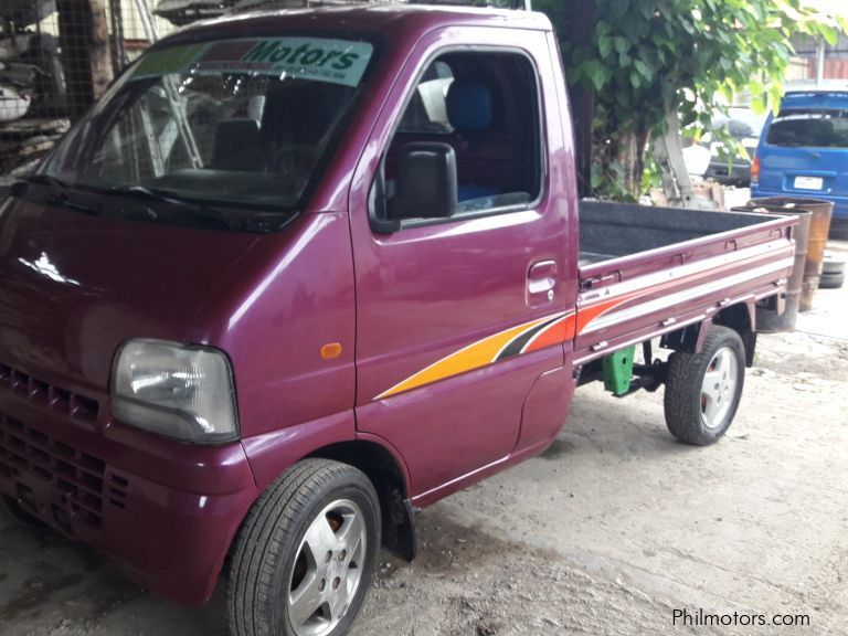 Pre-owned Suzuki Multicab Bigeye 4x4 Pickup MT Violet  for sale in