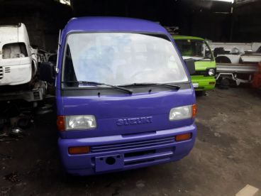 Pre-owned Suzuki Multicab Scrum Van 4x4 MT Violet for sale in