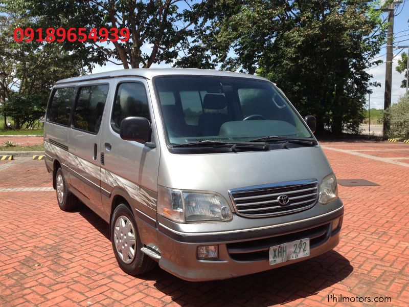 Used Toyota hiace for sale in Quezon
