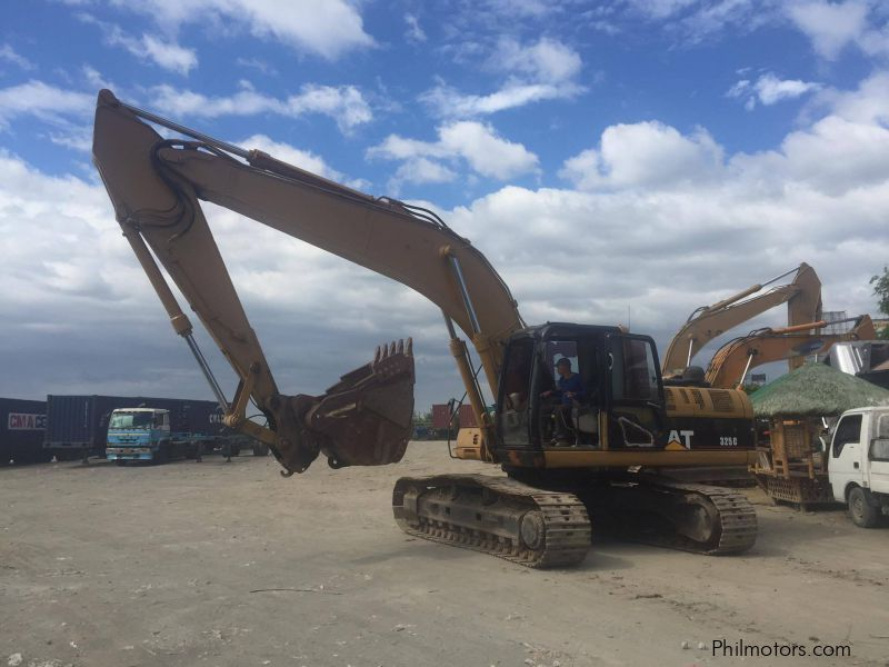 Used Caterpillar backhoe 325c for sale in Cavite