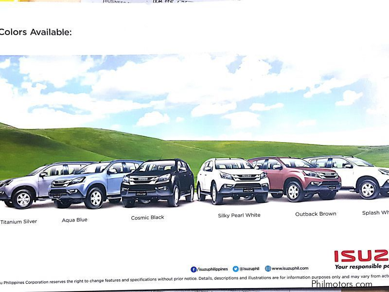 New Isuzu mux for sale in Pasig City