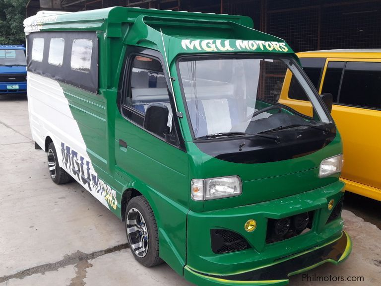 Used Suzuki Multicab Scrum Passenger Jeepney 4x2 Green for sale in Cebu
