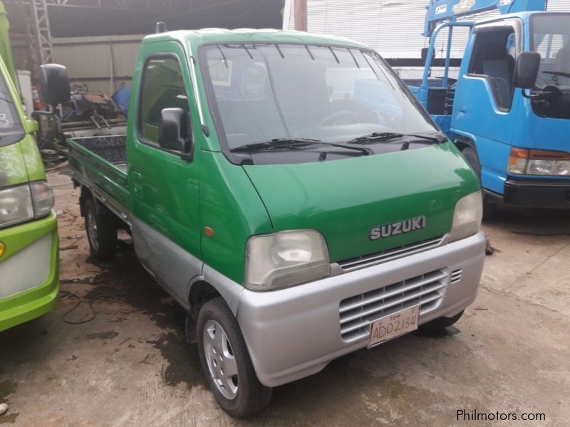 Pre-owned Suzuki Multicab Bigeye Pickup 4x4 MT Green for sale in
