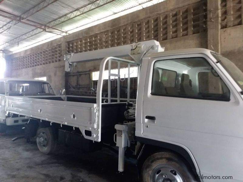 Pre-owned Isuzu Elf Boom Crane Truck 4HF1 Wide Long 18FT 3 section for sale in