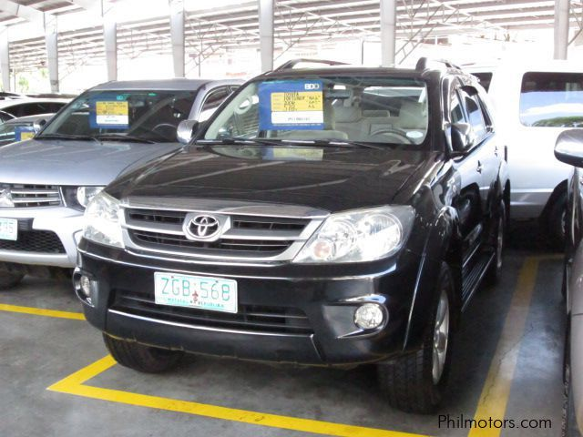 Pre-owned Toyota Fortuner G for sale in