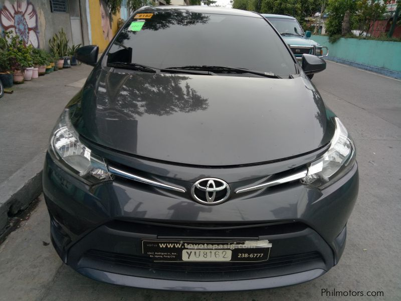Used Toyota Toyota Vios 1.3 E manual gas 2016 for sale in Makati City
